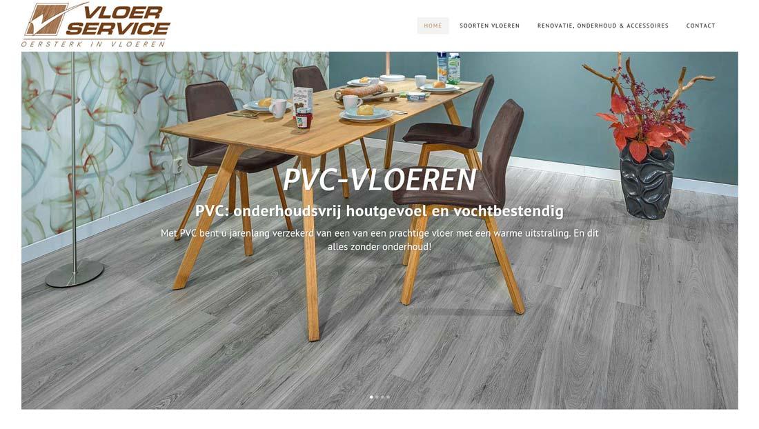 Wordpress website vloerservice schijndel