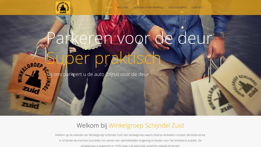website winkelgroep schijndel zuid (Wordpress)