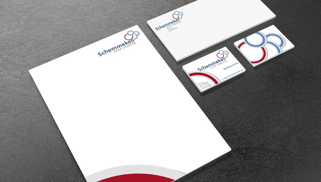 Drukwerk Schemmekes (briefpapier, visitekaartjes en enveloppen)