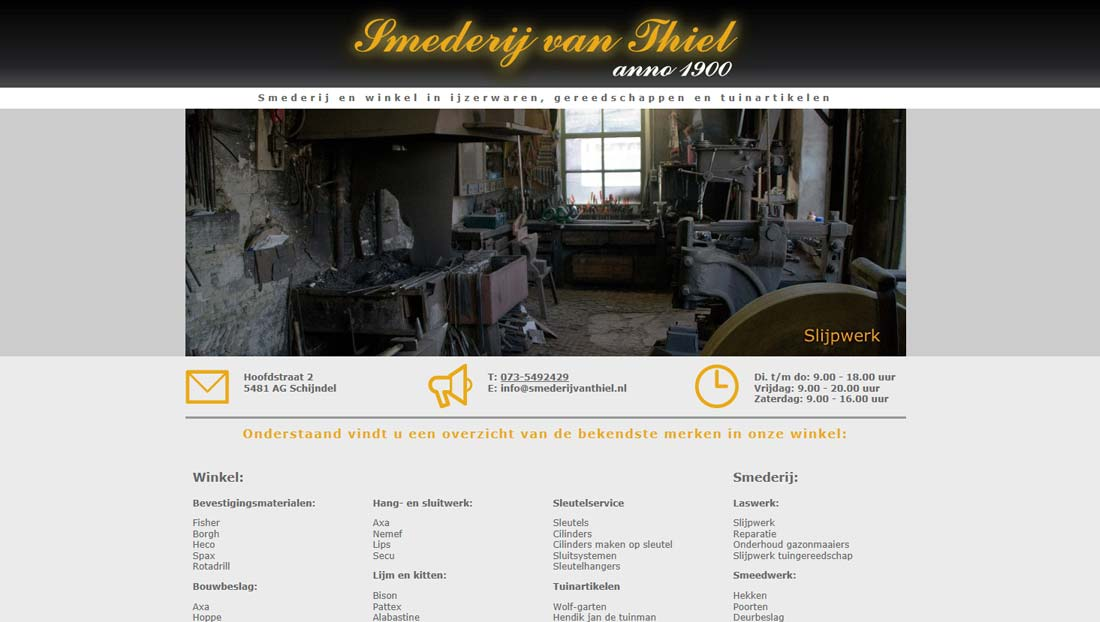website van Thiel